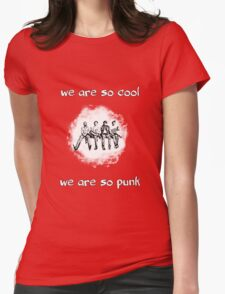 So Cool So Punk Womens Fitted T-Shirt