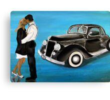 Book Cover Romance Canvas Print
