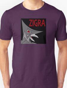 Zigra - Black Unisex T-Shirt