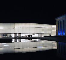 Royal Blue Kansas City Museum of Art by Catherine Sherman
