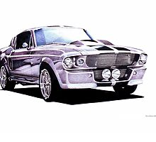 1967 Ford Mustang Custom by brianrolandart