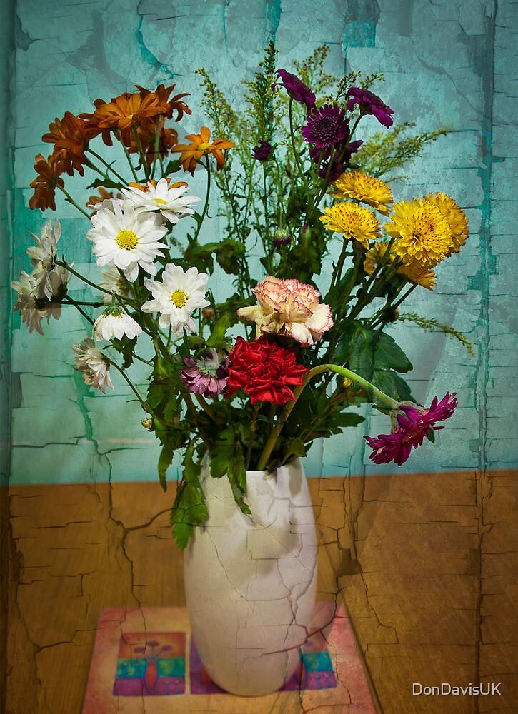 Fading Flowers by DonDavisUK