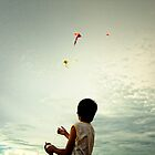 kite flying by THHoang