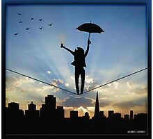 Tightrope Photographic Print