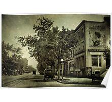 Vintage Streets Poster
