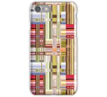 Abstract Weave of Colors iPhone Case/Skin