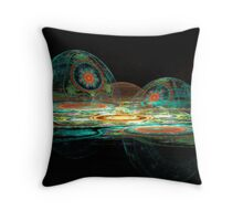 Eggs Of Easter Throw Pillow