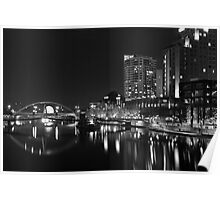 Our City At Night Poster