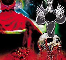 Dagger & Skull by Trickmaster
