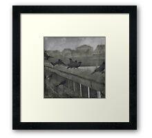 Raven Haven Framed Print