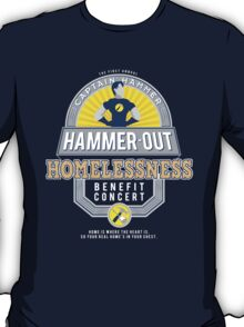 Hammer-Out Homelessness T-Shirt