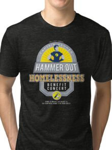 Hammer-Out Homelessness Tri-blend T-Shirt