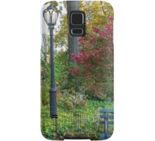 Lamppost and Bench Samsung Galaxy Case/Skin