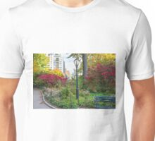 Lamppost and Bench Unisex T-Shirt