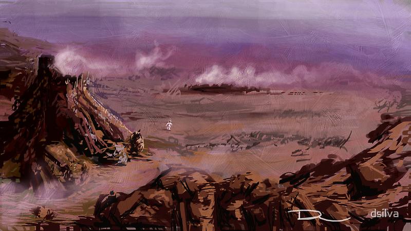 Rocky Planet by dsilva
