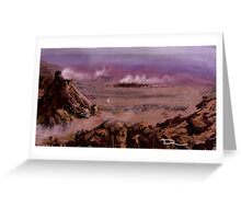 Rocky Planet Greeting Card