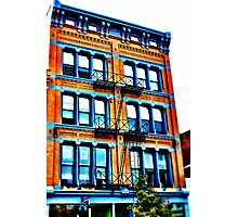Orange Building - Downtown Cincinnati Photographic Print