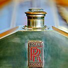 Rolls-Royce Hood Emblem by Jill Reger