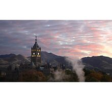A Hogwarts Morning Photographic Print