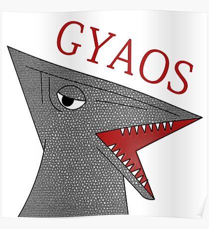 Gyaos - White Poster