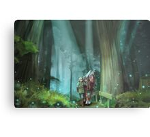 The Zelda Legend Metal Print