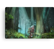 The Zelda Legend Canvas Print