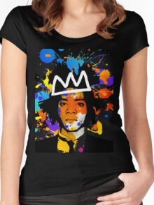 BASQUIAT Women's Fitted Scoop T-Shirt