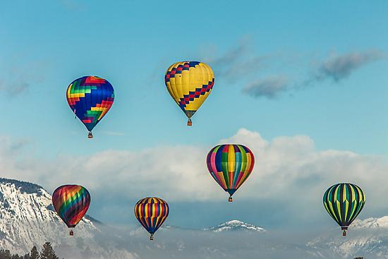 2012 Winthrop Balloon Roundup by Jim Stiles