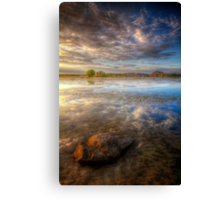 Lonesome Stone Canvas Print