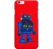 Blu Bot Red iPhone Case/Skin