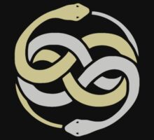 Auryn From The Never Ending Story - Gold Silver by daeryk