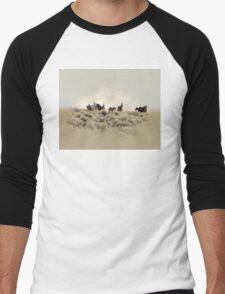 Dusty Trails Men's Baseball ¾ T-Shirt