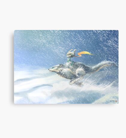 Twilight Princess Canvas Print