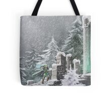 Snow Temple Tote Bag