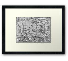 The Battle of Sudden Flame  Framed Print