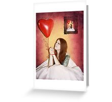 Passion Framed Greeting Card