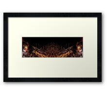 Panorama Light Painting Abstract UFA 2015 #4 Framed Print