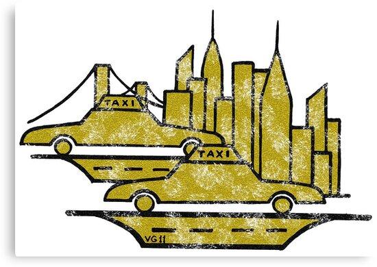 New York City drawing by Vitaliy Gonikman