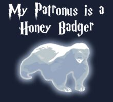 My Patronus is a Honey Badger Baby Tee