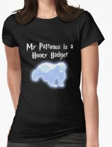 My Patronus is a Honey Badger Womens Fitted T-Shirt