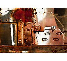 Rusty Latch Photographic Print