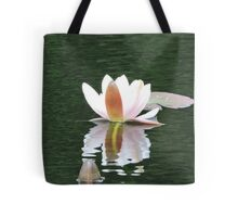Never Be Afraid to Bloom & Shimmer Tote Bag