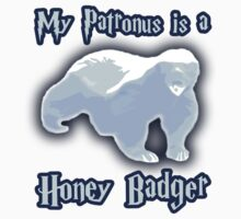 My Patronus is a Honey Badger Kids Tee