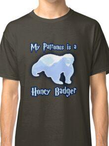 My Patronus is a Honey Badger Classic T-Shirt