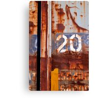 2 0 Canvas Print