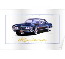 1963 Buick Riviera ver 2 Poster