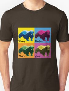 Warhol Style Honey Badger Unisex T-Shirt