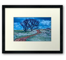 The Journey - Cootamundra, NSW - The HDR Experience Framed Print