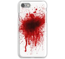 Blood Splatter Realistic iPhone Case/Skin