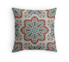 Indian pattern with mandala. Throw Pillow